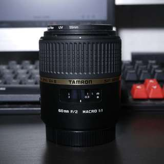 Tamron 60mm F2 macro Lens for Sony A-mount cameras.