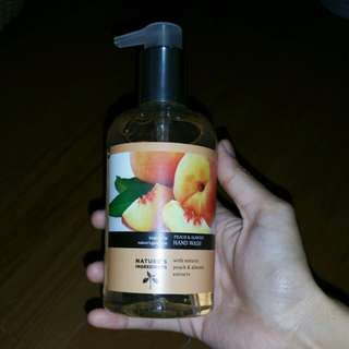 M&S Peach and Almond Hand Wash