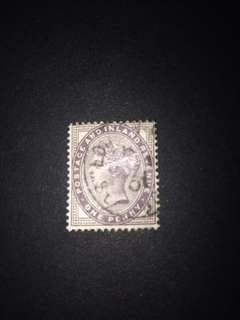 GREAT BRITAIN QV 1p, USED STAMP x1 PC!!!