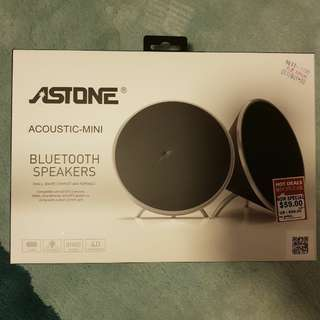 BNIB ASTONE Bluetooth Speakers