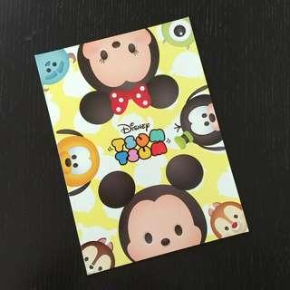 Disney Tsum Tsum Notebook (Yellow)