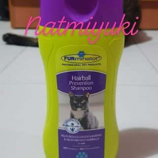 Furminator deshedding prevention cat shampoo