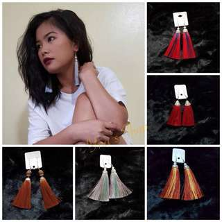 Tassel Earrings (M)