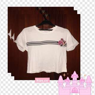 ORIGINAL BERSHKA CROP TOP