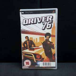 PSP Driver 76 (Used Game)