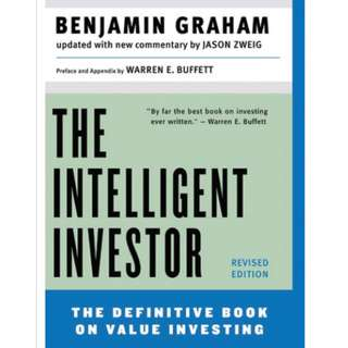 Banjamin Graham - The Intelligent Investor *ebook*