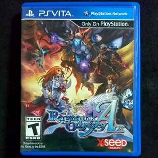 PS Vita Ragnarok Odyssey Ace