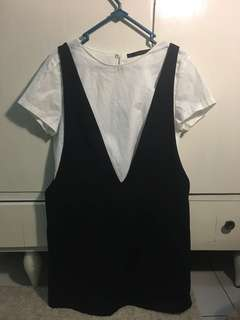 ZARA White Cotton Dress