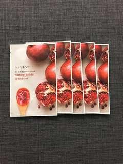 Innisfree pomegranate mask