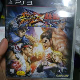 PS3 Street fighter vs Tekken