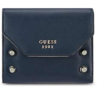 [全新] GUESS blue wallet 藍色銀包