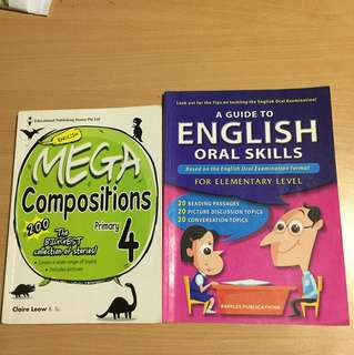 P4 Mega Composition&P1-3 English Oral Skills
