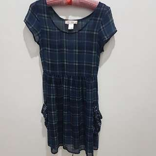 Repriced !!!Plaid Dress