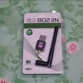 BN 150Mbps USB Port Wireless Wifi Adapter 802.IIN LAN Network Wi-fi Adapters With Antenna for PC