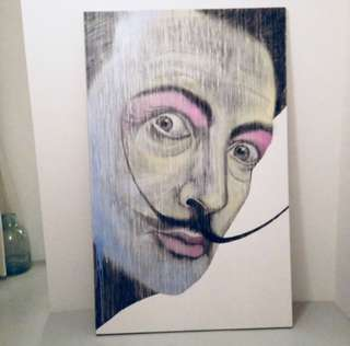 Salvador Dali Contemporary Painting (Original)