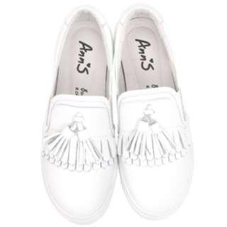 🚚 Ann's厚底白鞋