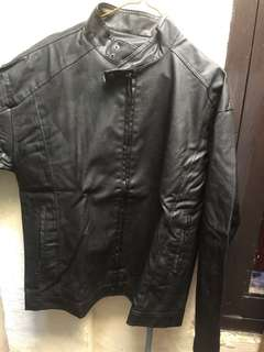jaket kulit premium hugo