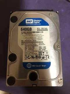 640GB 3.5 HDD
