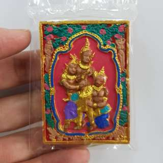 Thai amulets Petch Phrayathorn Khmer Magic Spell hand painted. Lucky love charm