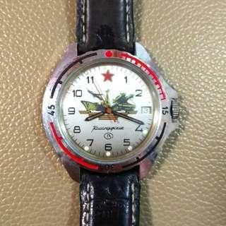蘇联機械軍錶watch