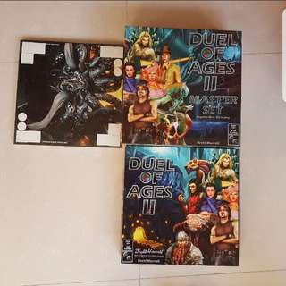 (Rare) Duel of Ages II Complete Collector's New Board Game