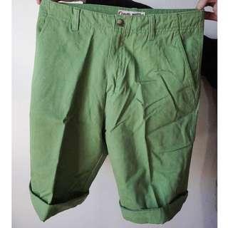 Green Summer Shorts