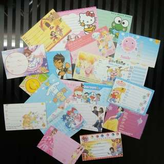 Cartoon name cards