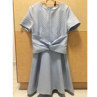 Ohvola Quilt Blue Dress
