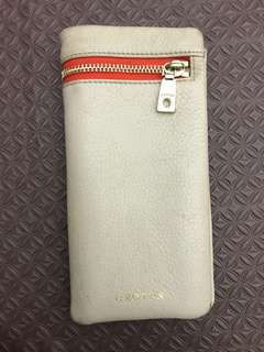 OROTON beige long wallet