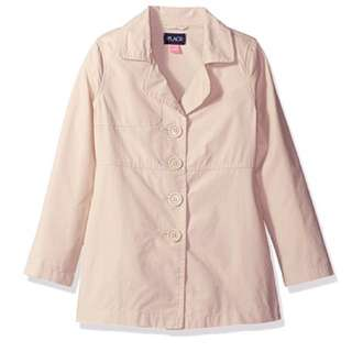 SALE 65% Off - 5-6 years BNWT The children's place girls Trench coat.