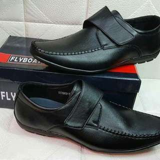 Jr. & Mens black shoes