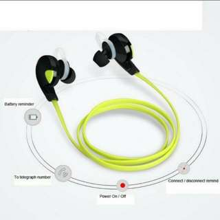 BN Good Quality H7 Bluetooth V4.1 Wireless Handfree Headset Stereo Headphone Earphone Sport Universal.