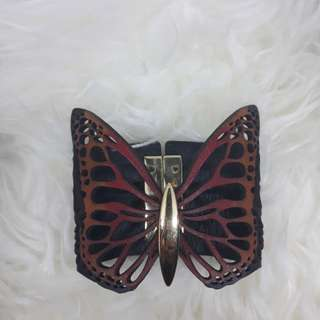 Gelang kulit Butterfly