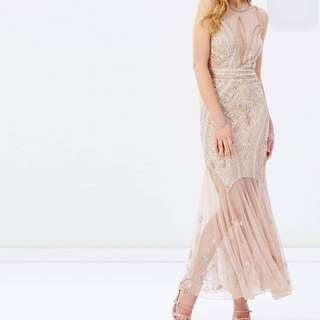 Miss Selfridge sequence/beaded gown