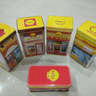 Shell Heritage Canister Collection