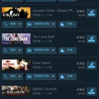 放Steam帳號出售(急放)