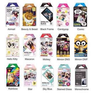 Fujifilm Instax Mini Design & Character Film 10pcs (Fujifilm Malaysia Warranty) #Feb50