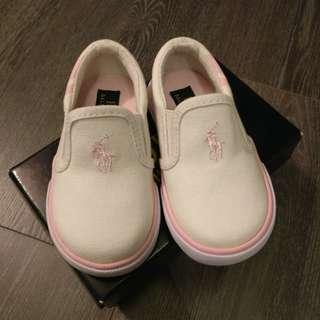 Ralph Lauren toddler girl slip on shoes size 5