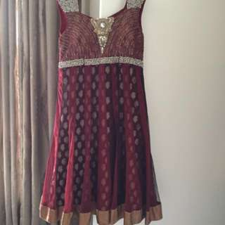 Brand New Indian Dress for hire