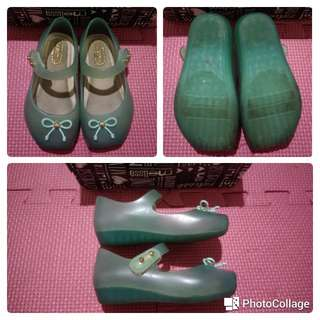 Mini Melissa Ballet green