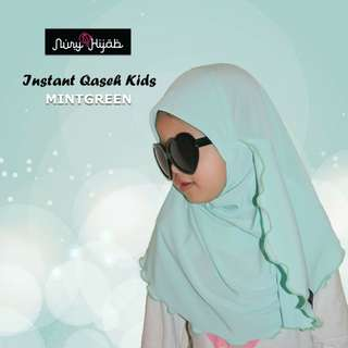 Tudung Instant Qaseh Kids