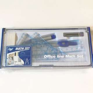 Maths Instrument Set/ Mathematics Set Square