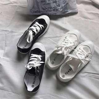 超低價‼️無印良品風 百搭 小白鞋