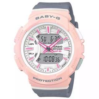Preorder Casio Baby-G BGA-240 Series Grey Resin Band Watch BGA240-4A2