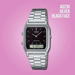 Original Casio watch AQ230