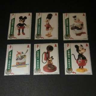迪士尼郵票 二
