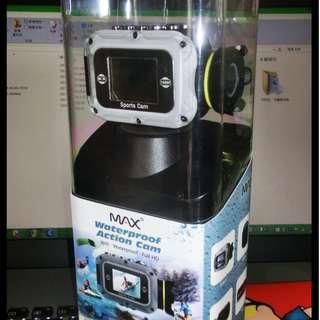 MAX MA-AC0003 全新全高清防水運動攝錄機 原價 $1980>現放$550 價可少議!!