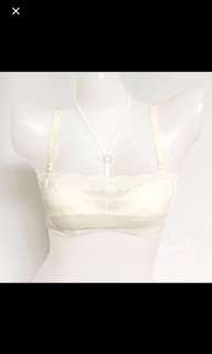 (in stock)Lace Bra With Veil