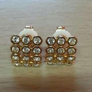 99%new SWAROVSKI 詩華洛世奇 水晶 耳環