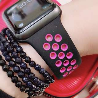 38mm iWatch矽膠錶帶(iWatch strap)